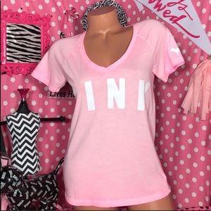 Pink by Victoria's Secret V-neck T-shirt